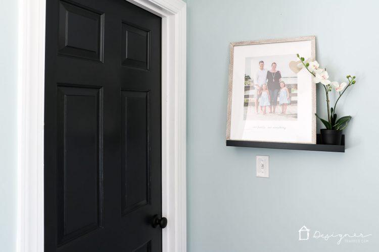 Painting Interior Doors Black High Impact Low Update Designer