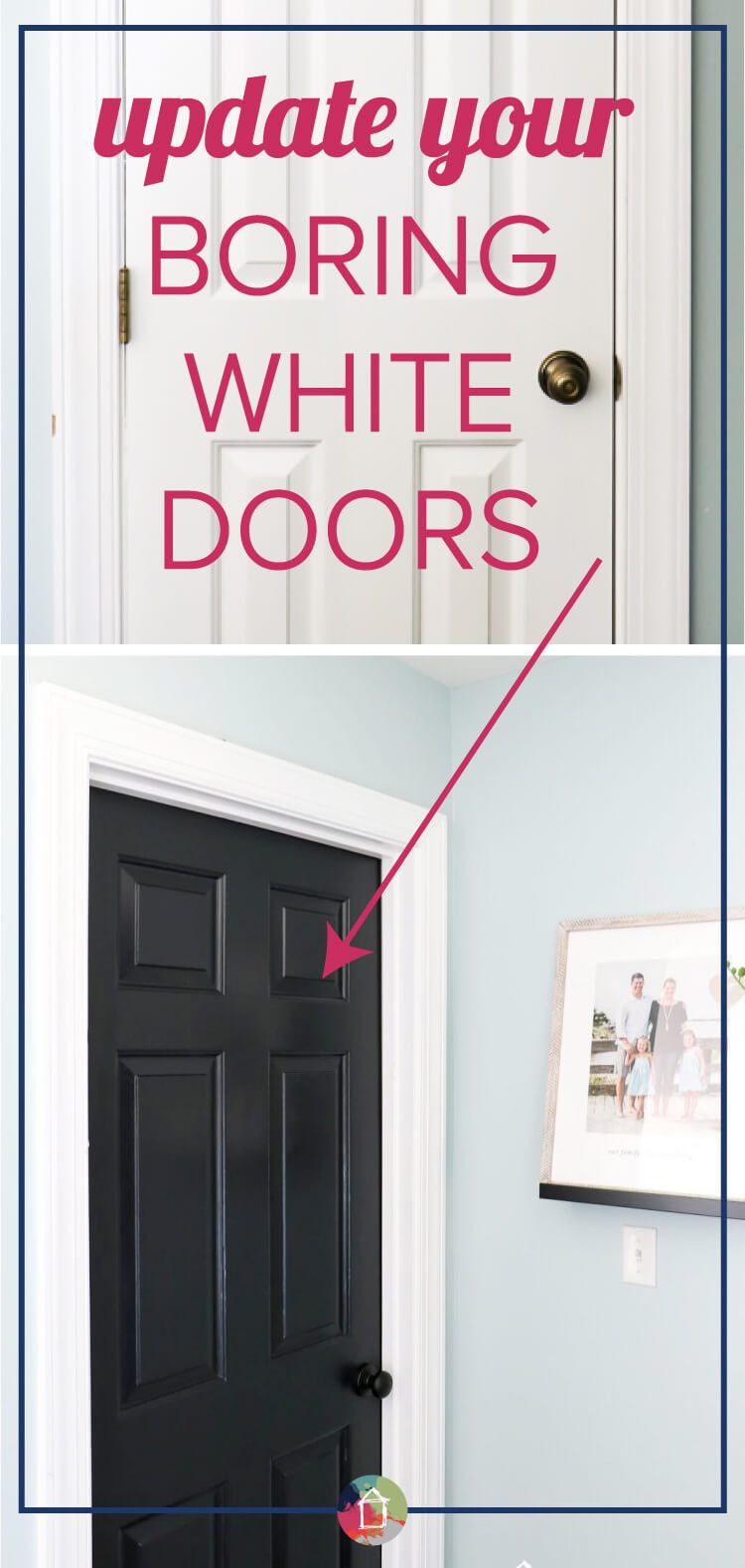 Black interior doors pinterest - Love The Idea Of Black Interior Doors For An Affordable Interior Update All You Have