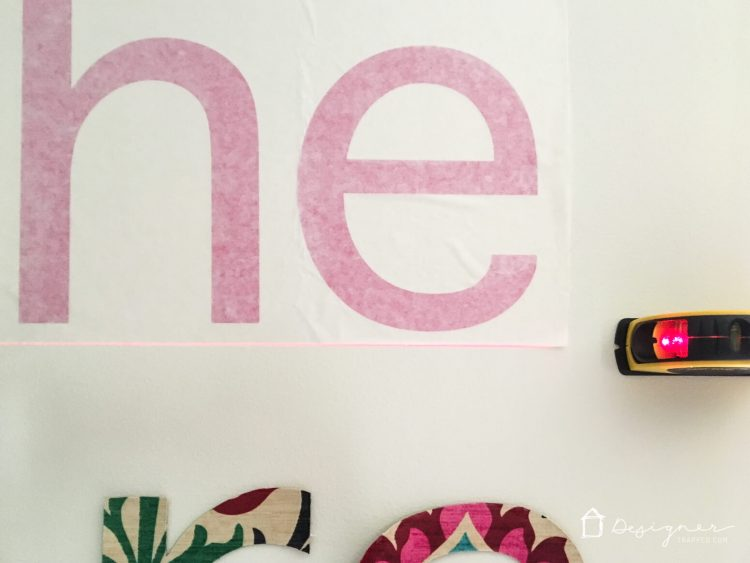 DIY Custom Wall Decals That Will Make You Swoon Designertrappedcom - How to make large vinyl wall decals with cricut