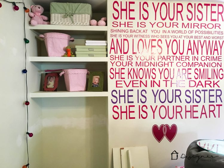 DIY Custom Wall Decals That Will Make You Swoon Designertrappedcom - How to make vinyl wall decals with cricut