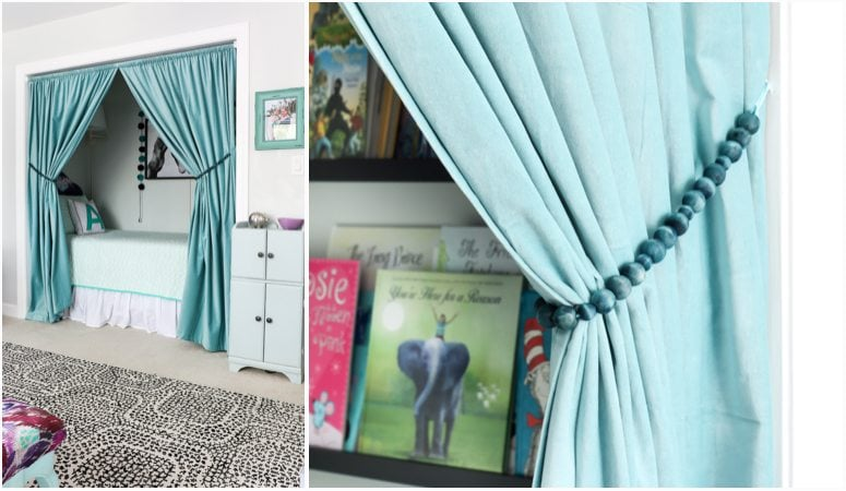 Quick and Easy DIY Curtain Tie Backs