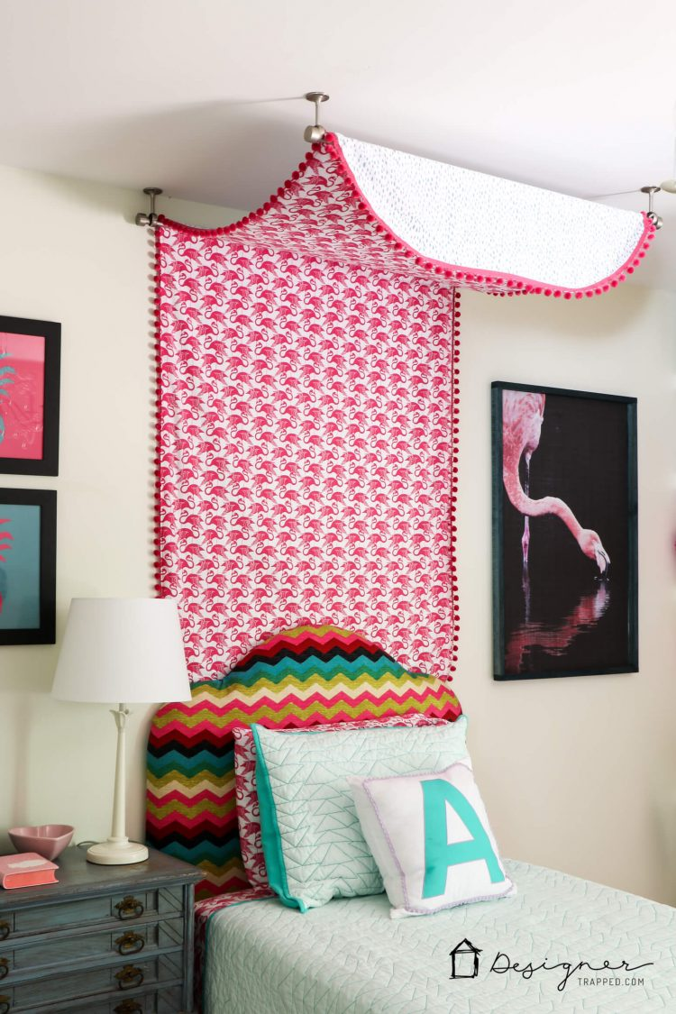 Bed Canopy Diy Diy Bed Canopy From Flat Sheets Designer Trapped In A Lawyers Body