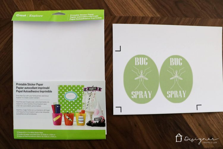 Have you ever wondered how to make stickers or labels with your cricut machine this