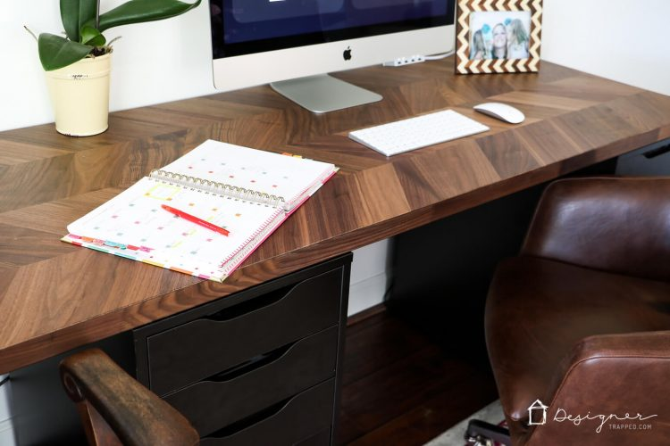 Pics photos ikea computer desk - Easy And Gorgeous Ikea Desk Hack Designer Trapped