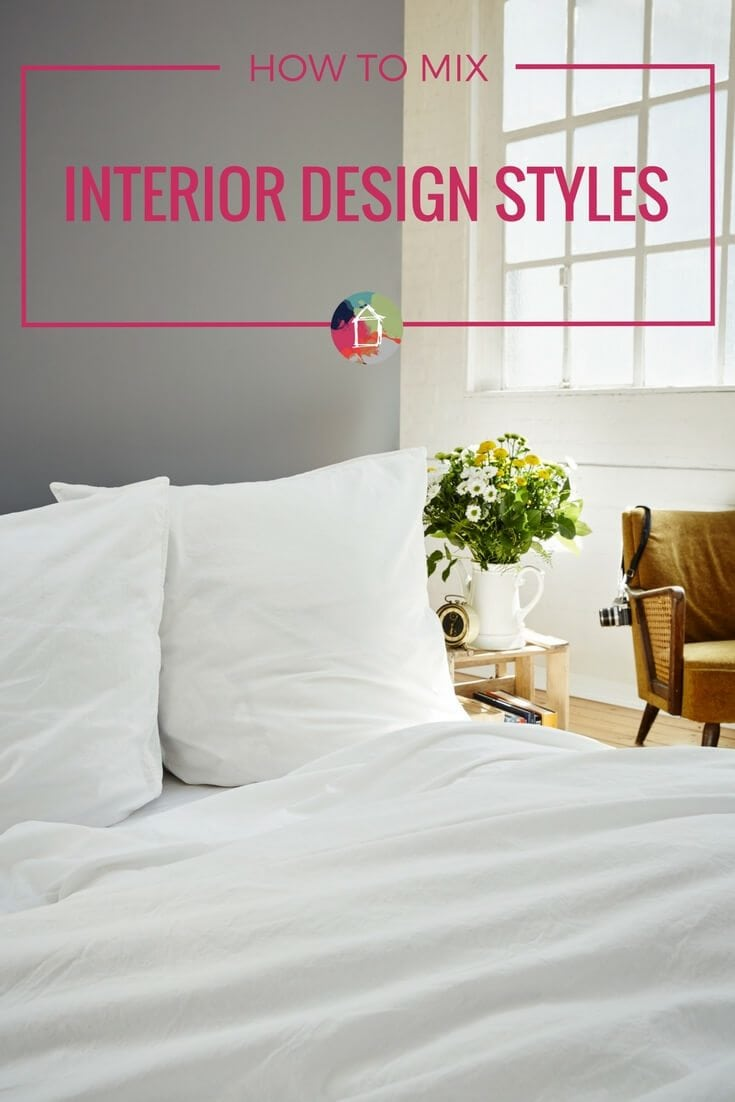 GREAT examples of how to mix interior design styles in your home and tips to follow so you can do it like a pro! So bold and beautiful. Perfectly done!