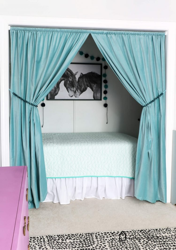 OMG, What Kid Wouldnu0027t Love This Cozy Bed Nook?