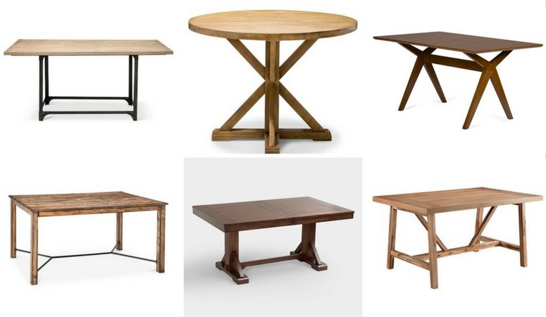 You don't have to spend a fortune on a dining room table! There are so many affordable dining tables. Love, love, love this list!