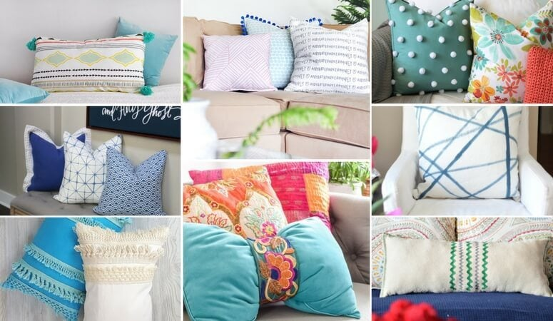 Cute Throw Pillows That You Can DIY or Buy!