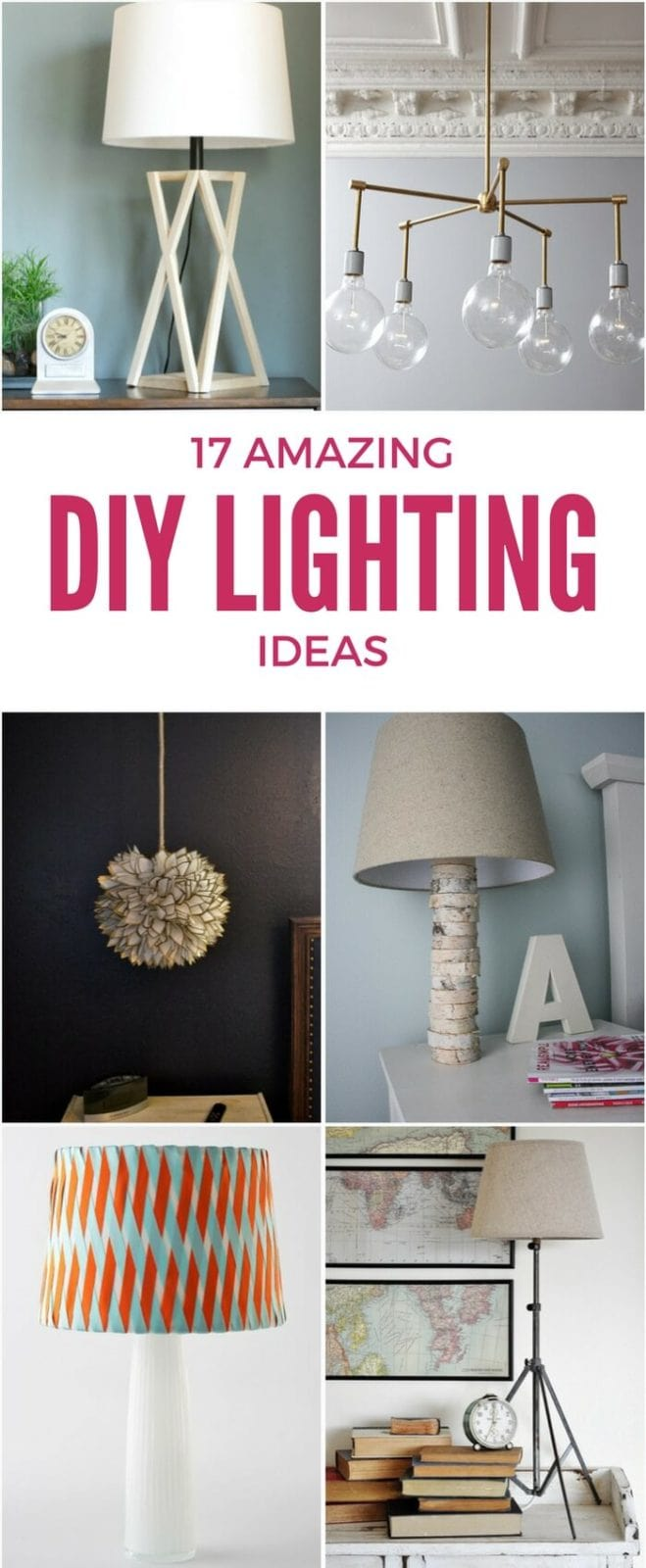 diy lighting ideas. 17 Inspiring DIY Lighting Ideas That Won\u0027t Bust Your Budget Diy