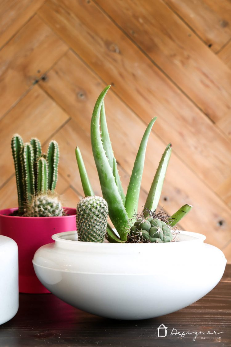 OMG! These DIY planters are gorgeous and I never, ever would have thought of this upcycling idea. So smart!