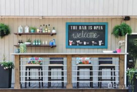 DIY Outdoor Chalkboard Tutorial