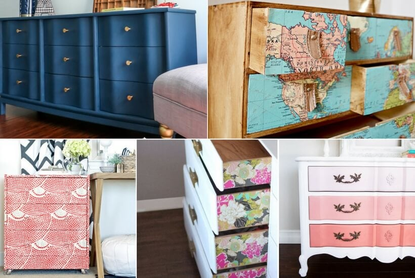 15 Amazing DIY Dresser Projects