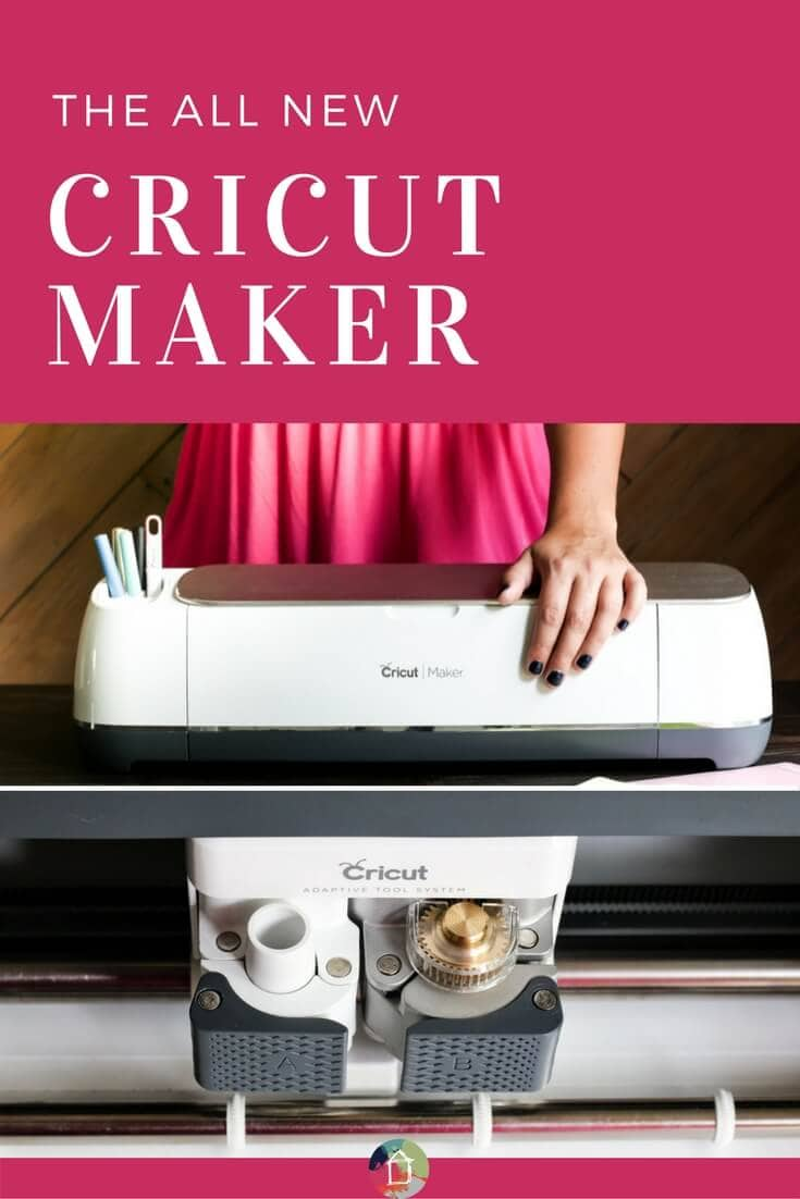 What is the Cricut Maker? Is it the best cutting machine out there? Do you need one? What can the Cricut Maker cut? All your questions are answered in this detailed review post!