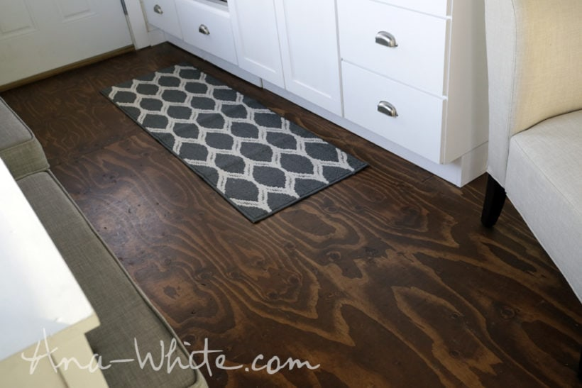 16 gorgeous but cheap flooring ideas designer trapped in for Unusual inexpensive flooring ideas