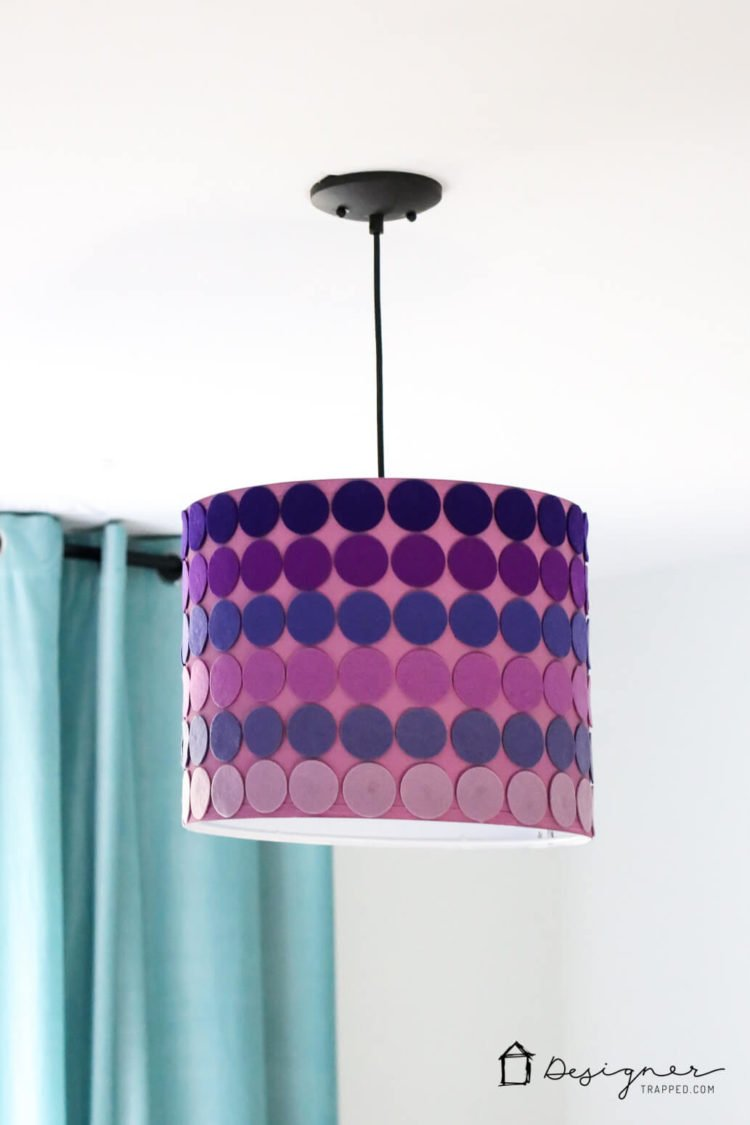 when you cant find the perfect lampshade for your decor make one yourself - Diy Lampshade