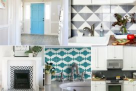 Painting Tiles and Other Great Tile Updates