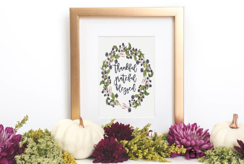 Fall Is In the Air – A FREE Fall Printable For You + A Fall Printables Blog Hop