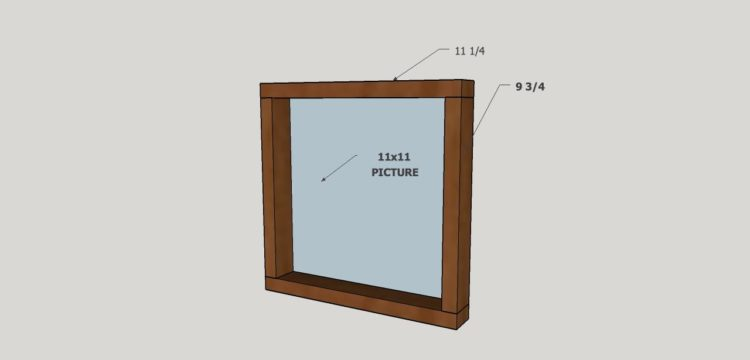 Learn how to make picture frames for large prints. Easy DIY frames tutorial.
