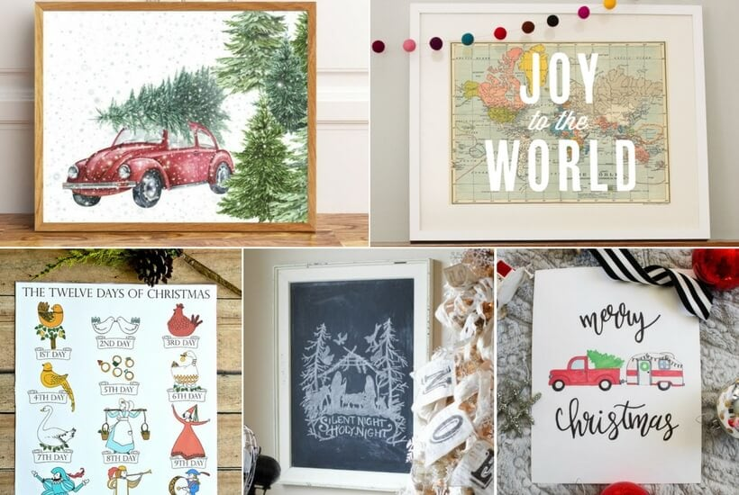 The Best Christmas Printables