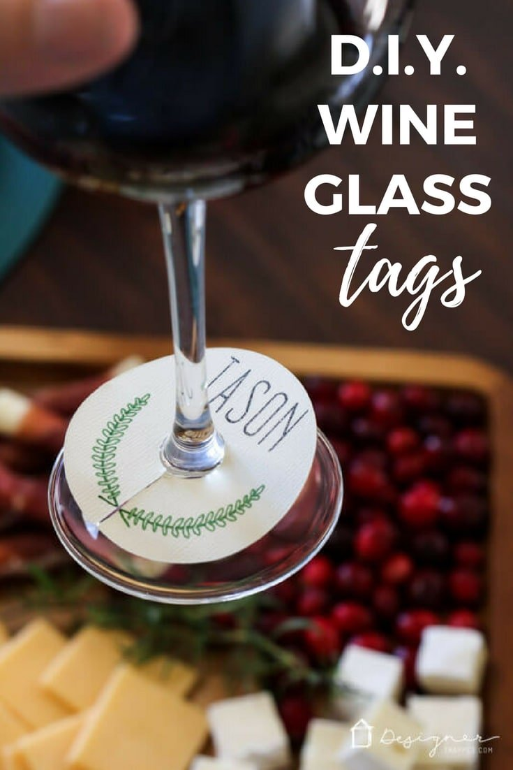 Wine glass charms are practical and pretty! These DIY wine glass charms are easy to make in just minutes and are the perfect touch for holidays and gatherings!