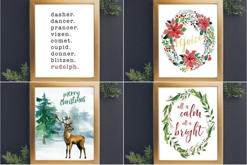 2017 Free Christmas Printables