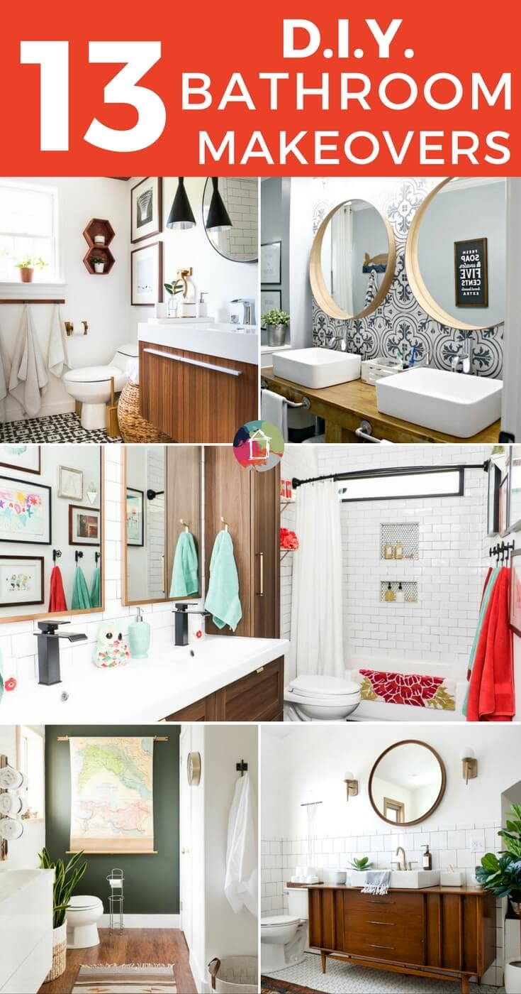 13 DIY Bathrooms You Have to See to Believe | Designer Trapped in a ...