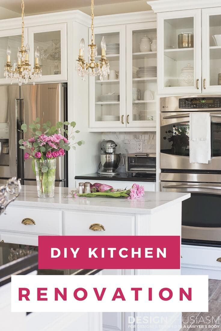 It is easier than you think to take your kitchen from builder grade to gorgeous on a budget! These kitchen makeover secrets will save you money and give you great ideas!