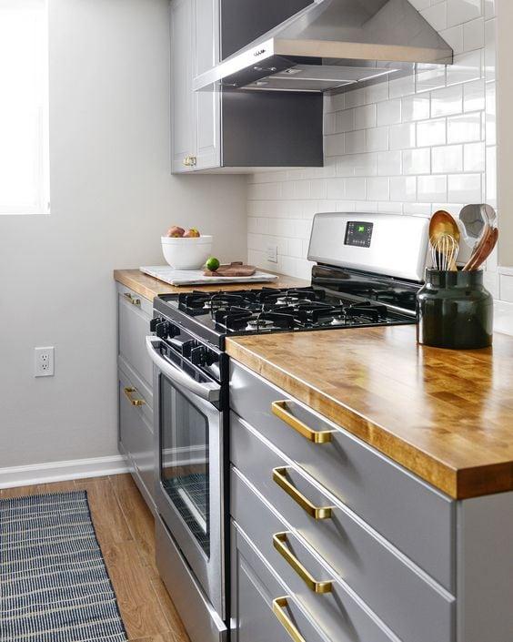 Ikea Kitchen Galley: 10 DIY Kitchen Makeovers That Will Blow Your Mind