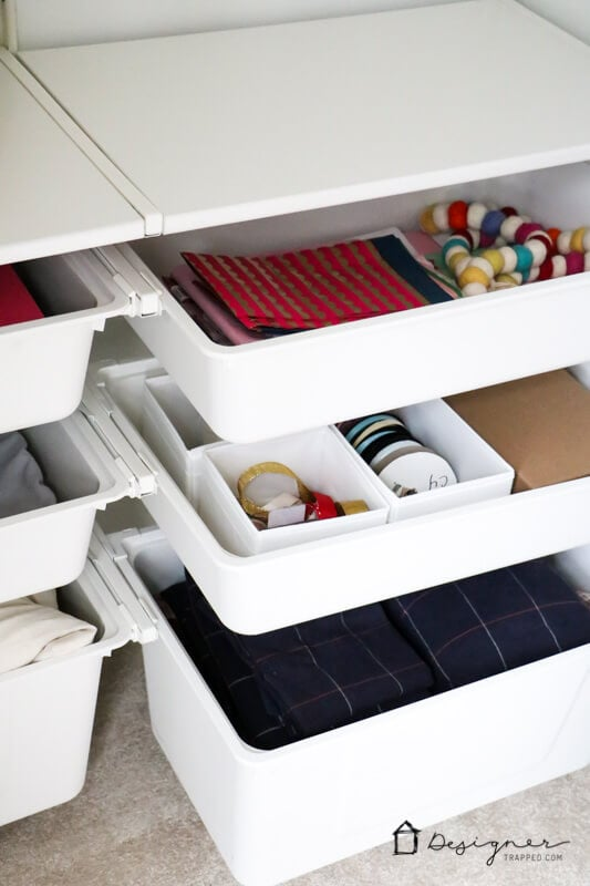 If you find yourself short on storage in your home, you are not alone! But these bedroom storage ideas will help you maximize the storage in your bedrooms without spending a fortune.