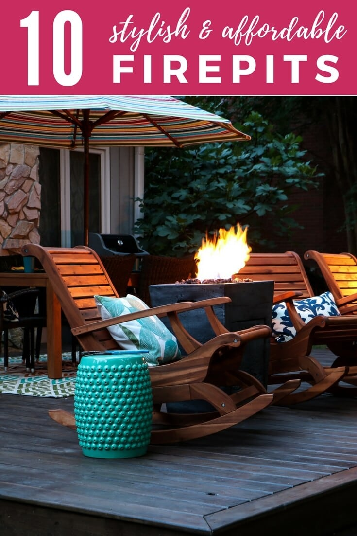 DIY fire pit ideas can transform a basic backyard. There are also amazing options if you don't have the time and energy to make your own. These are the best options out there for both!!