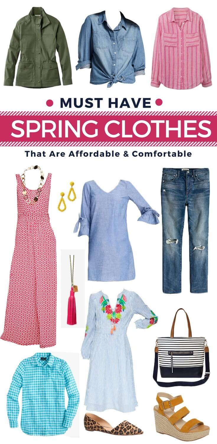 Must Have Spring Clothes That Are Comfortable Stylish