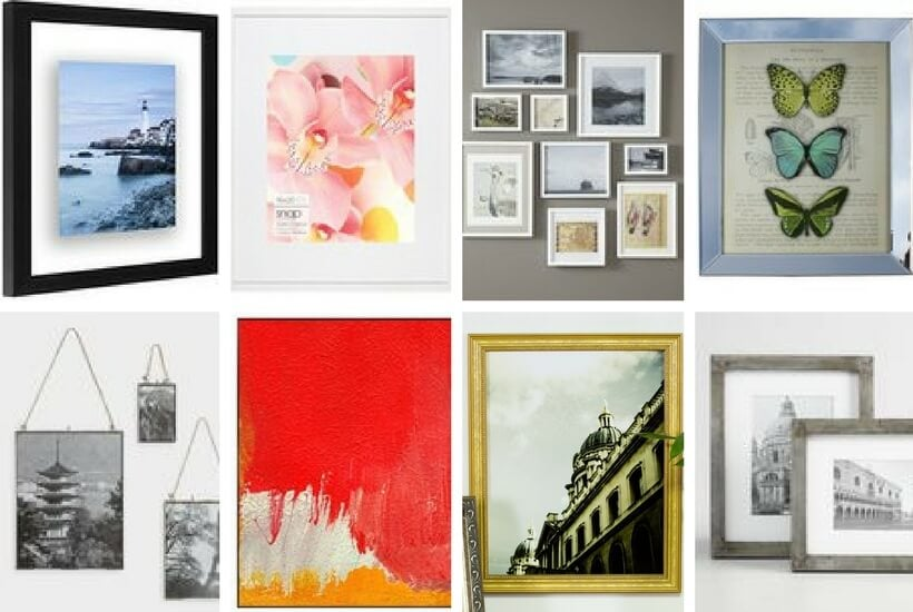 Stylish & Affordable Frames for Photos and Art