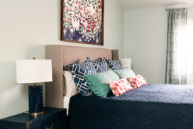 Our Colorful Master Bedroom- The Beautiful Bedrooms Tour