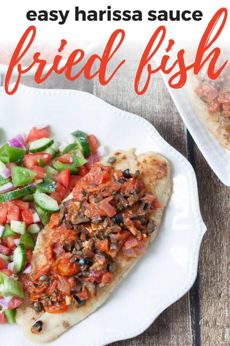 harissa fried fish