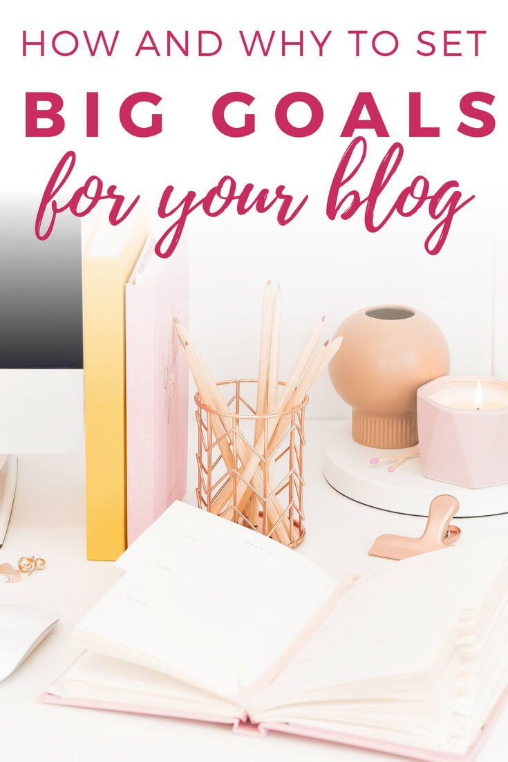 how to set goals for your blog