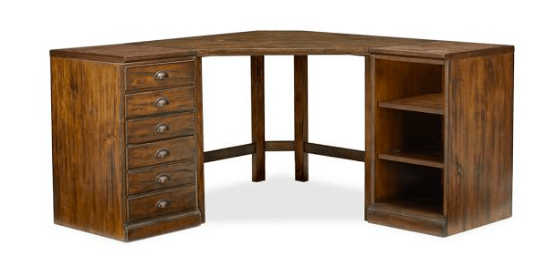 Pottery Barn Printers Corner Desk
