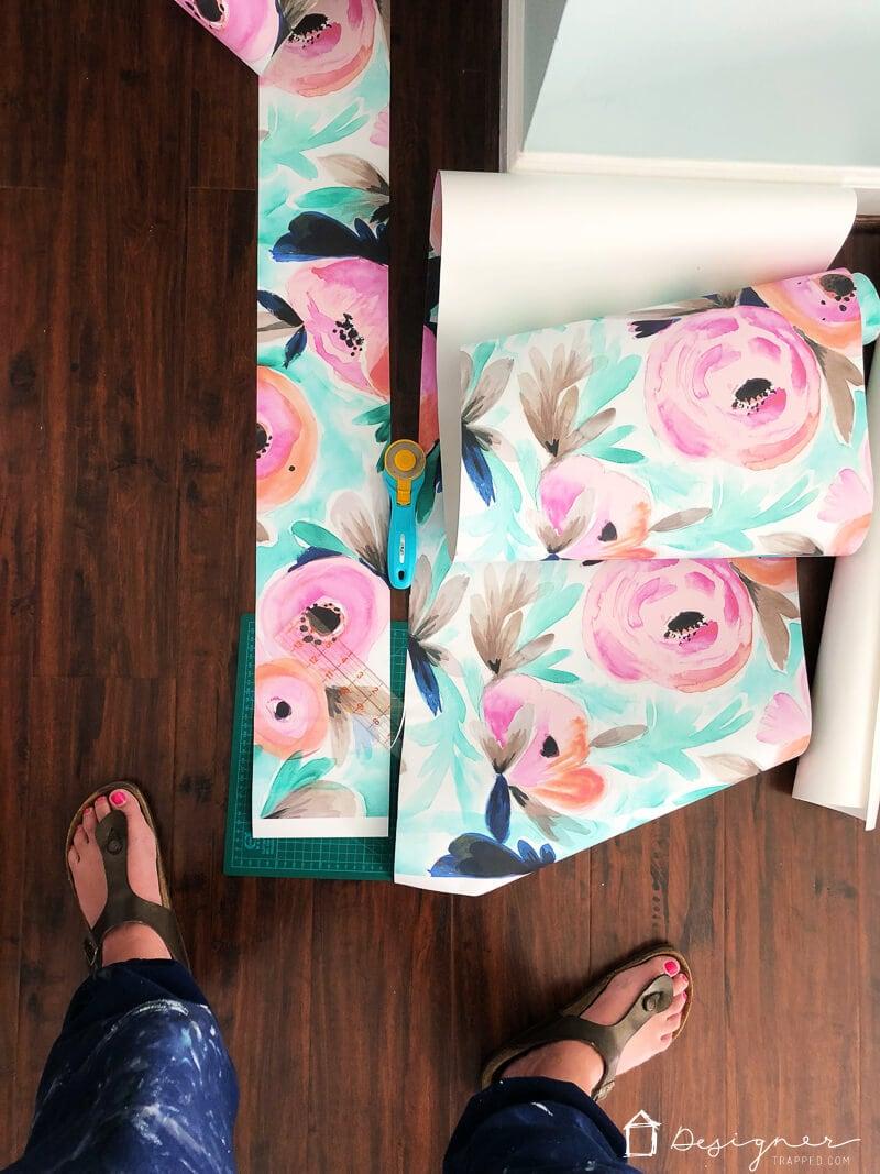 temporary wallpaper installation tips