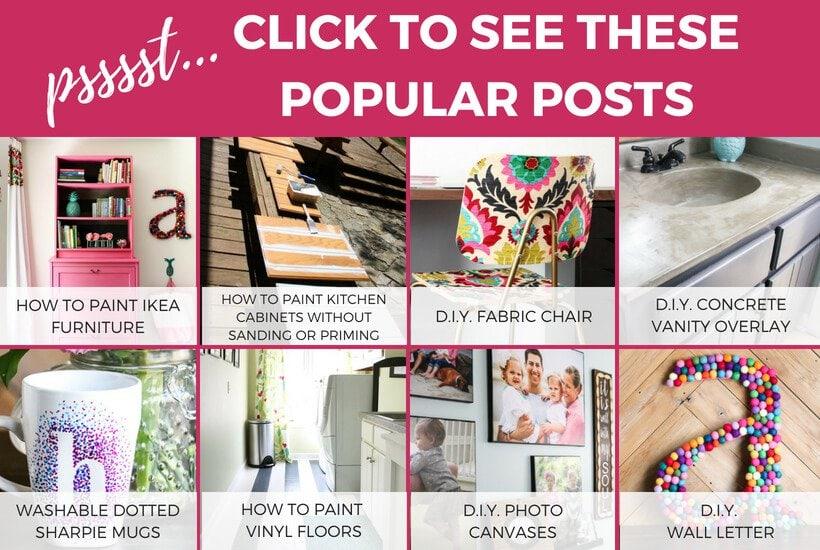 popular DIY posts