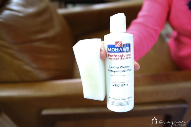 how to clean polyurethane leather furniture