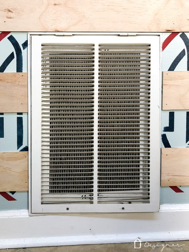 builder grade air grille cover