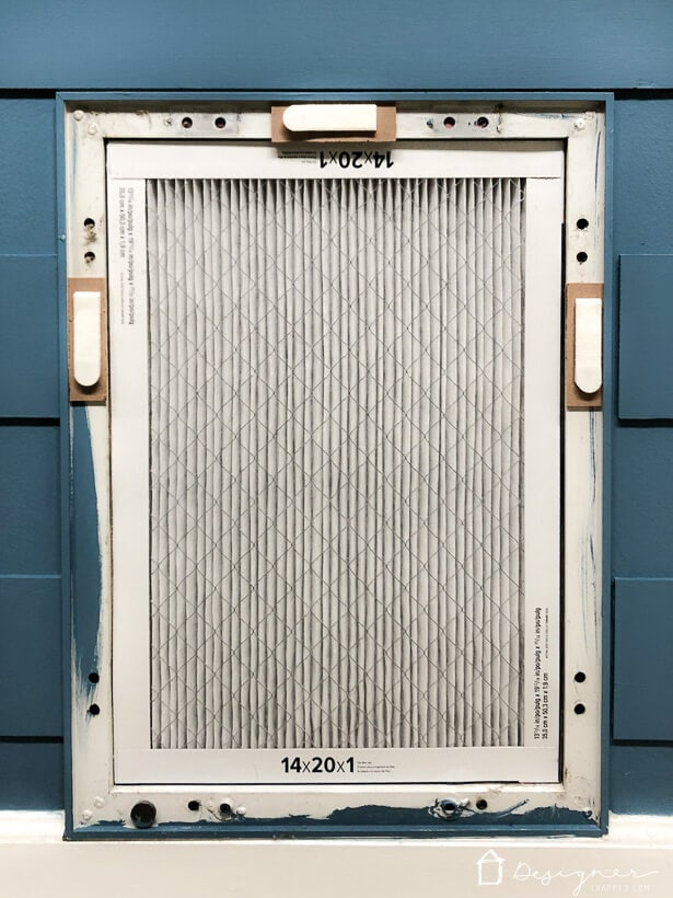 diy air vent cover tutorial